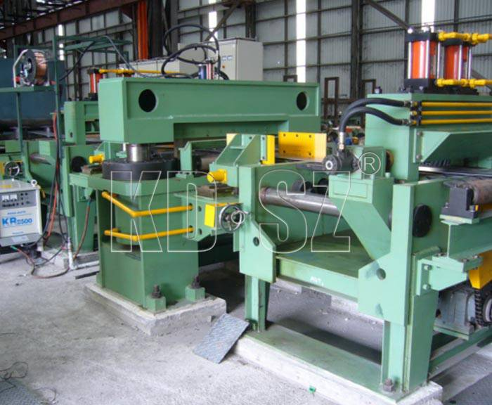 Shear End and Welder